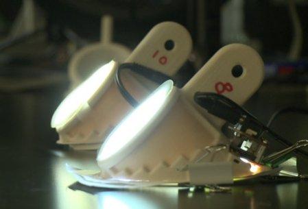 nanofiber lamps