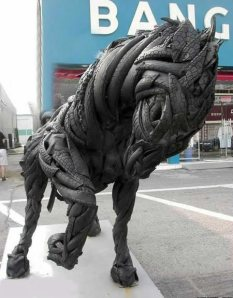 tire horse
