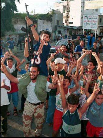 palestinians celebrate 9/11