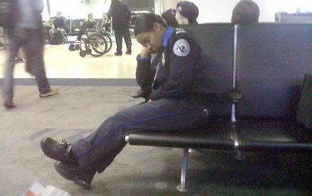 TSA Worker